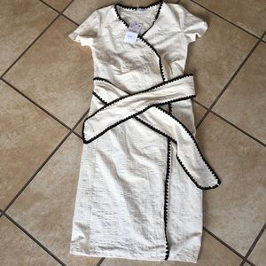 ZARA NWT cream colored dress